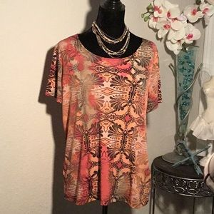 East 5th Essentials- Short Sleeve Top Size XL